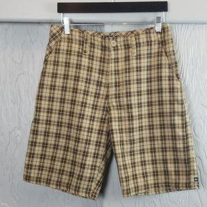🖤 3/$15 🖤 QUICKSILVER plaid shorts